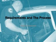 Requirements and The Process