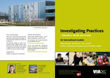 Investigating Practices - University of Oradea Information Page