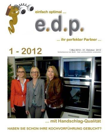 2012 einfach optimal ... ... ihr perfekter Partner - edp