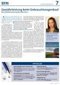 Ausgabe 03   Herbst 2012 - EFM Versicherungsmakler AG - Seite 7