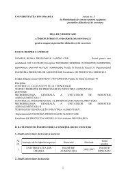 1 UNIVERSITATEA DIN ORADEA Anexa nr. 3 la Metodologia de ...