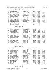 Klubmesterskab lang 02-11-2013, Hallindskov, Svendbo 18:07:34 ...