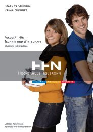 Campus Künzelsau - Hochschule Heilbronn