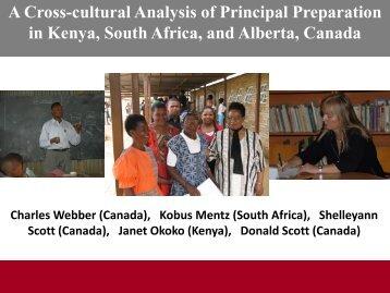 in Kenya South Africa and Alberta Canada
