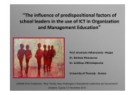 """and Management Education"""""""