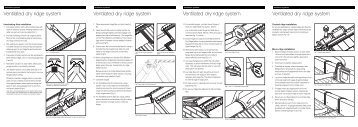 Dry Ridge Fitting Instructions - Frrc.co.uk