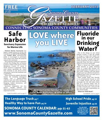 Safe Harbor - Sonoma County Gazette