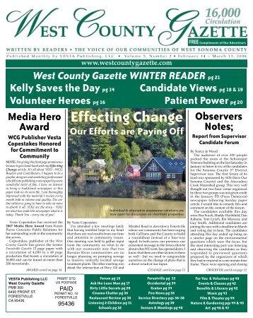 Sonoma county gazette dating