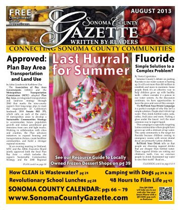 Fluoride - Sonoma County Gazette