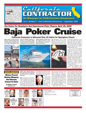 Baja Poker Cruise