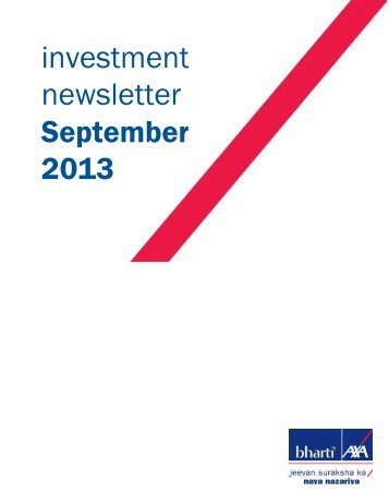 September - Bharti AXA Life Insurance