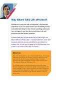 my family's future with just a click Bharti AXA Life eProtect - Page 2