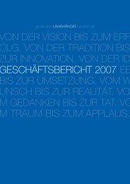 Geschäftsbericht 2007 - Südwestbank