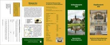 Download Konzert Flyer - Reinhardtsgrimma