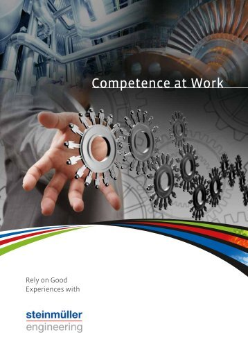 Competence at Work - Steinmüller Engineering GmbH