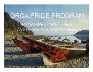 ORCA PRIDE PROGRAM