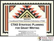 CTAS STRATEGIC PLANNING GRANT WRITING