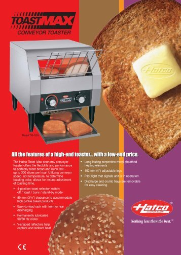 All the features of a high-end toaster… with a low-end price