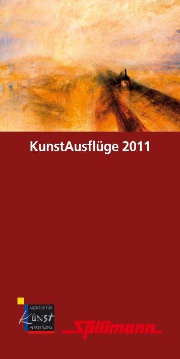 KunstAusflüge 2011 - Agentur für Kunstvermittlung