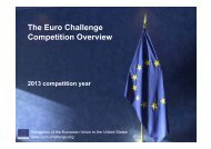 What is the Euro Challenge?