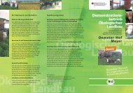 Demeter-Hof Meyer - Oekolandbau.de