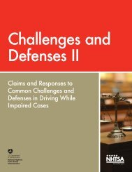 Challenges and Defenses II