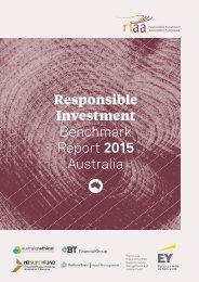 Benchmark Report 2015 Australia