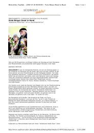 Seite 1 von 2 Hohenloher Tagblatt - (2006-03-20 00:00:00) - Viele ...