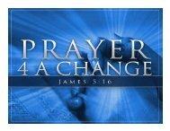 Lord teach us to pray!