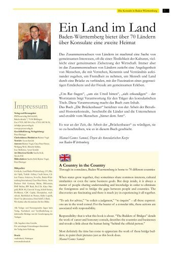 Herr Generalkonsul, die konsu - PR Presseverlag Süd GmbH