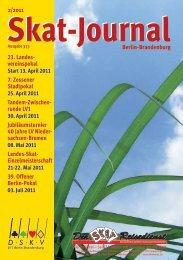 Skat-Journal 2/2011 - DSkV