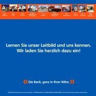 Leitbild - Raiffeisenbank Donaumooser Land eG