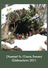 Weihnachtspfarrbrief 2011 - Bistum Augsburg