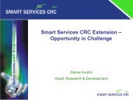 Smart Services CRC Extension – Opportunity in Challenge