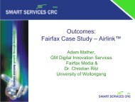 Outcomes Fairfax Case Study – Airlink
