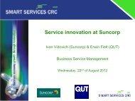 Service innovation at Suncorp