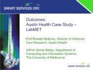 Outcomes Austin Health Case Study – LabMET