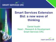Smart Services Extension Bid a new wave of thinking