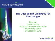 Big Data Analytics can work for you …