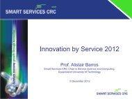 Innovation by Service 2012