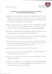 Empfehlungen von Experten der Deutschen Herzstiftung - lvsapr.de
