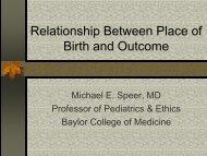Birth and Outcome