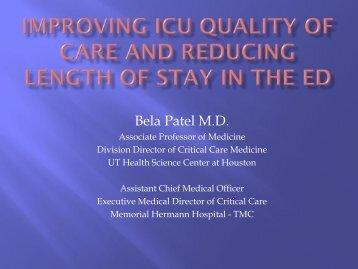 Bela Patel M.D