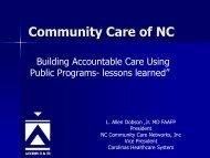 Community Care of NC