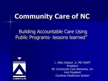 Community Care of NC