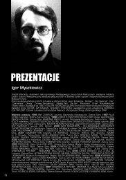 Galera infografia 2007 Canibalix Magnus infografia 2005 fragment wystawy