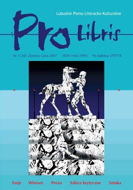 Caåy Numer 20 W Jednym Pliku Pdf Pro Libris Wojewã³dzka