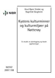 Kystens kulturminner og kulturmiljøer på Nøtterøy