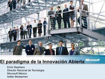 El paradigma de la Innovación Abierta
