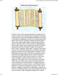 | Simboli della tradizione ebraica | Il Sefer Torah é un libro speciale ...